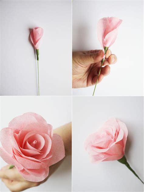 How To Make Paper Flowers For Weddings - how to make paper flowers for a wedding bouquet easy