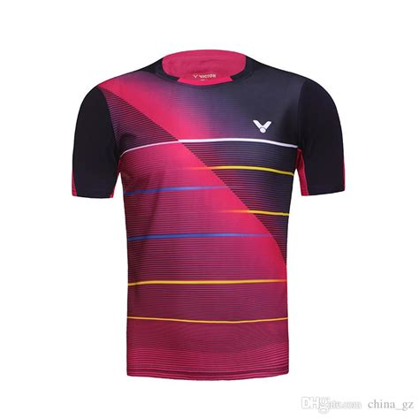 Dh Jersey Indonesia best 2016 victor badminton shirt shirt korea