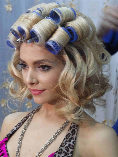 roller set perfect hair pinterest roller set imgp2080 2 curlers rollers rods 2 pinterest