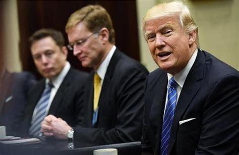 elon musk on trump elon musk makes push to trump keep us in paris agreement