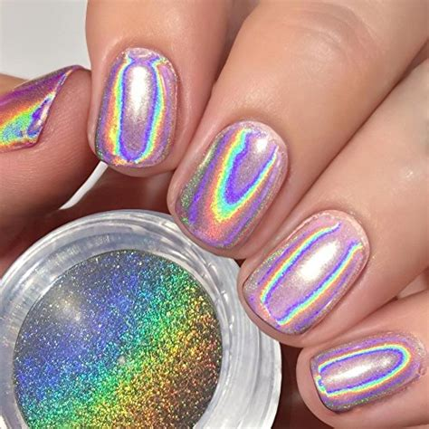 Nagel Pulver by Preisvergleich Ushion Nagel Pulver Hologramm Chrome