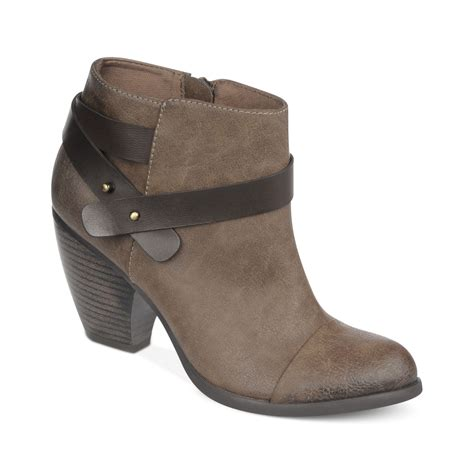 fergie boots fergie fergalicious boots lucid booties in brown taupe
