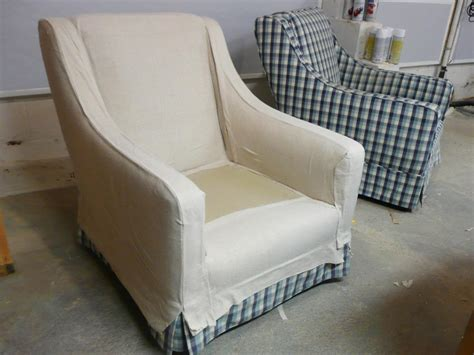 How To Cover An Armchair by How To Make Arm Chair Slipcovers For Less Than 30 How