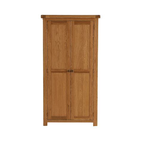 galloway oak hanging wardrobe glenross furniture
