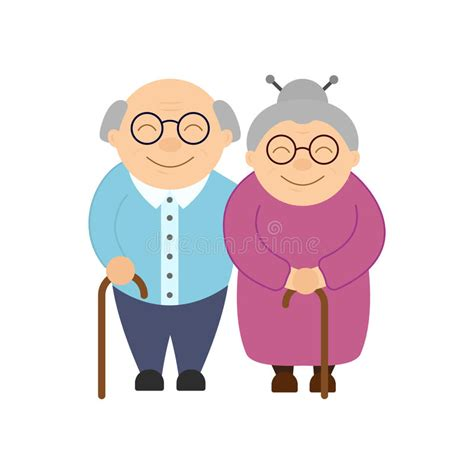 clipart nonni nonni felici anziani giorno s nonno