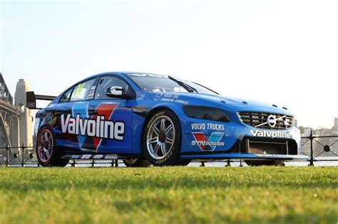 volvo race car volvo and polestar reveal s60 race car for v8 supercars
