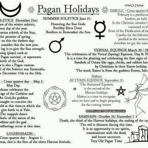 pagan holidays a grimoire pinterest