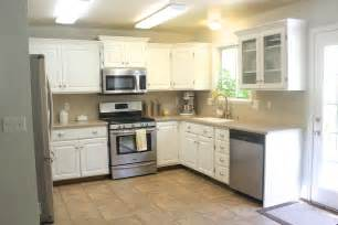Remodeled Kitchen Cabinets Everywhere Beautiful Kitchen Remodel Big Results On A Not So Big Budget