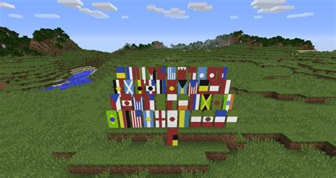 flags of the world minecraft country flags in minecraft minecraft blog