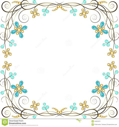 Jewelry Border Clipart Clipart Suggest Jewelry Border Clip