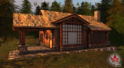 Northwoods Cabins by Rustic Cabin Free Update Now With Materials Trompe Loeil