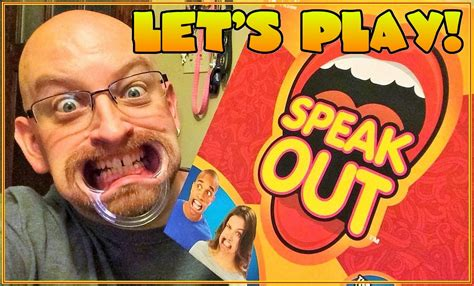 Speaks Out by Let S Play Speak Out Hilarious Mouthpiece By