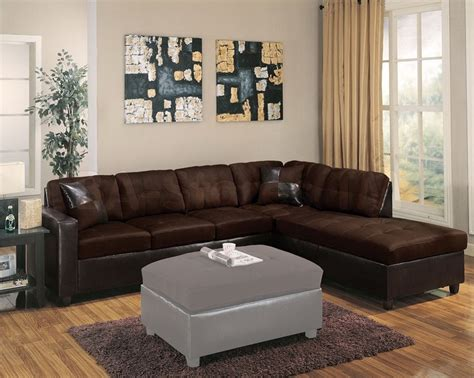 milano sectional sofa milano chocolate reversible sectional sofa with chaise
