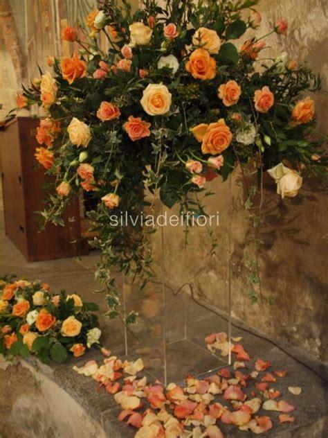 fiori arancioni per matrimonio decorazione altare matrimonio migliore collezione