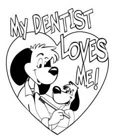 dentist coloring pages coloring pages
