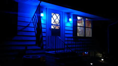 Colored Porch Lights Meaning by Project Blue Light For Sheriff