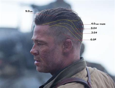 curtain cut brad pitt the 25 best fury haircut ideas on pinterest brad pitt