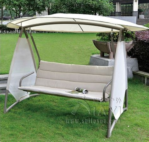 covered swing bench shop popular patio swing covers from china aliexpress