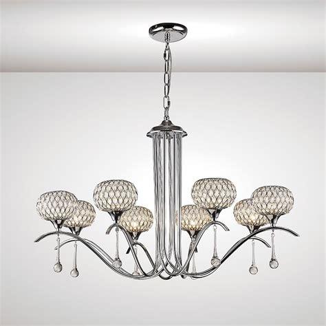 multi arm pendant light diyas chelsie 8 light multi arm ceiling pendant in