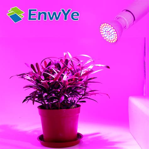 cfl grow lights for indoor plants enwye led lada cfl grow light e27 e14 mr16 gu10 220v