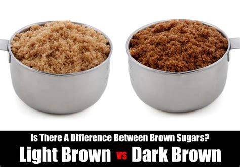 Difference Between Light Brown Sugar And Brown Sugar by Difference Between Light And Brown Sugar Kitchensanity