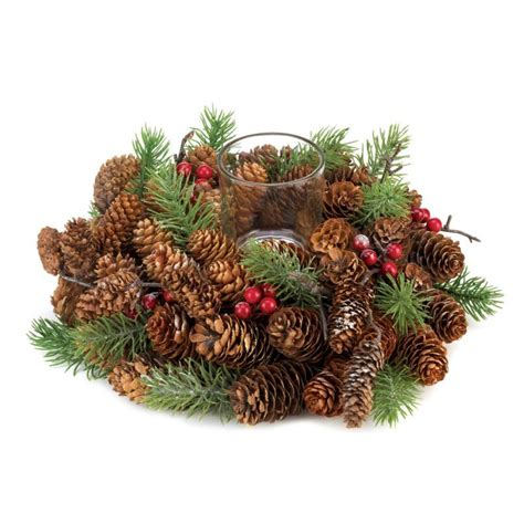 wreath centerpieces 36 centerpieces wreath candle holders pine cone berries
