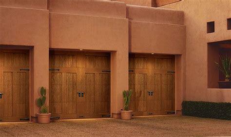 Faux Wood Carriage Style Garage Pin By Mortland Overhead Door On Faux Wood Garage Doors