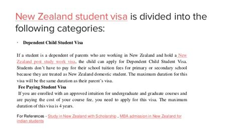 Mba For International Students In New Zealand by New Zealand Student Visa Study In New Zealand For Indian