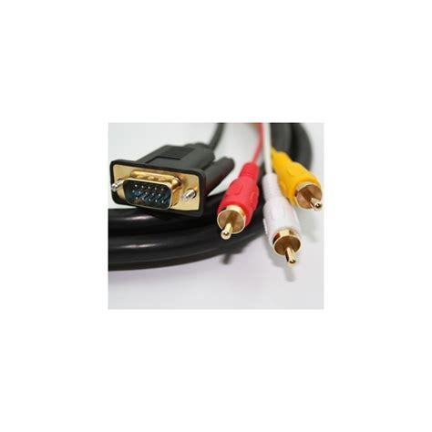 Harga Kabel Vga Ke Hdmi harga jual hdmi to vga dan audio 2 meter kabel