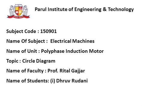 induction motor circle diagram pdf induction motor circle diagram ppt 28 images circle diagram of an induction motor its