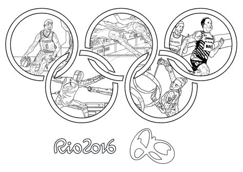 coloring pages olympic games rio 2016 olympic games olympic and sport coloring
