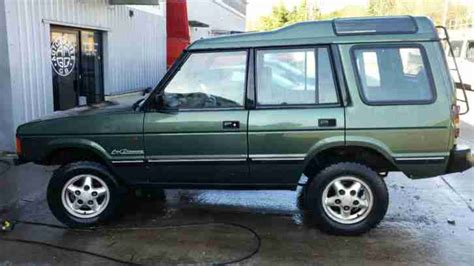 land rover 200tdi 1993 land rover discovery 200tdi green car for sale