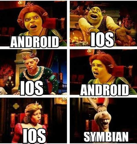 Ios Meme - when people argue about mobile operating systems the
