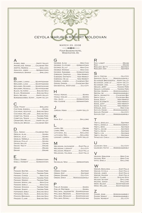 irish wedding seating chart celtic wedding seating chart