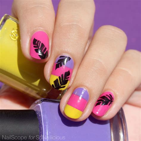 nail polish colors for the beach for women over 50 tutorial tropical vacation nails