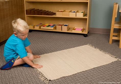 Kid Rolled Up In Mat by The Importance Of The Work Mat In The Montessori Prepared Environment Namc Montessori