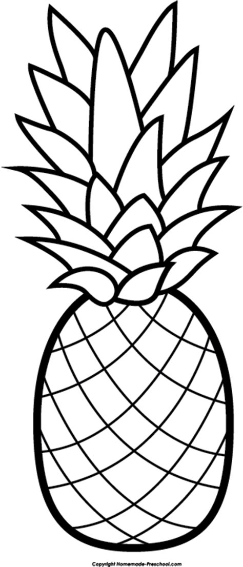 Printable Coloring Page Of Apple