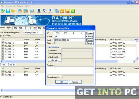 ip scanner free ip scan tool free all software free