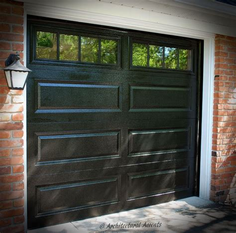 Black Garage Doors Single Black Garage Door White Aluminum Capping On The Frame Stockton Glass Windows Doors