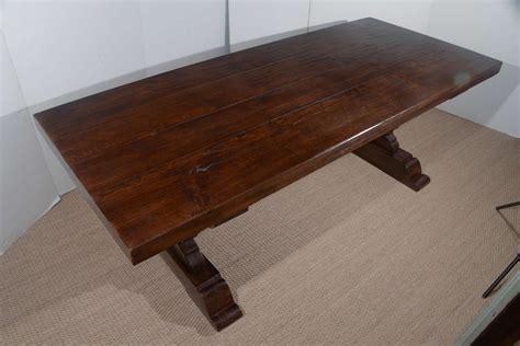 antique oak dining room furniture alliancemv com antique reclaimed french oak trestle dining table for sale