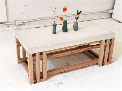 concrete kitchen table home design ideas
