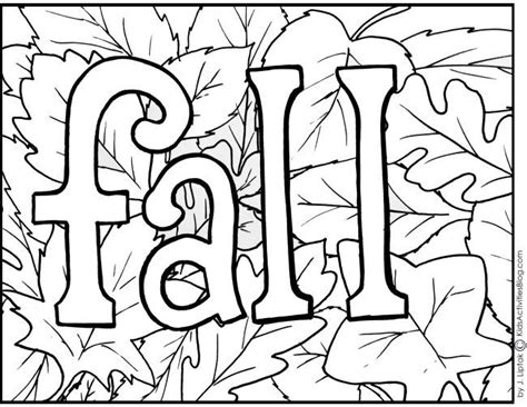 printable coloring pages fall theme 4 free printable fall coloring pages coloring free