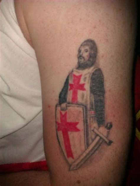 crusader tattoo crusader templar