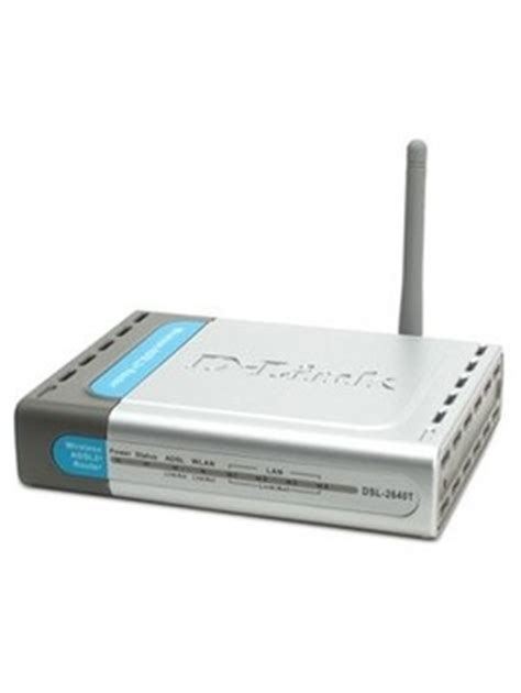 Modem Adsl D Link 4 Port d link dsl 2640t all in one wireless adsl 2 2 router with