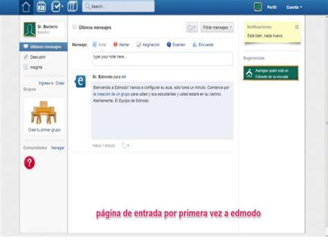 tutorial edmodo para alumnos tutorial edmodo 2013 manual para profesor