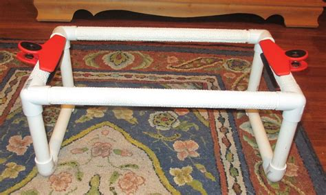 how to make a rug hooking frame how to make your own spiffy rug hooking frame hooking with yarn