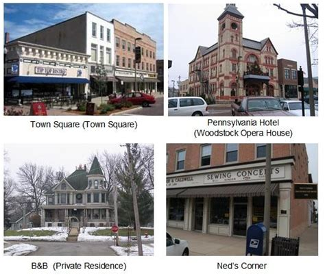 groundhog day town 17 best images about woodstock illinois on
