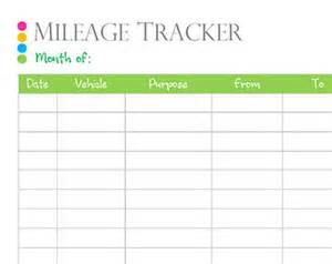 mileage tracker etsy