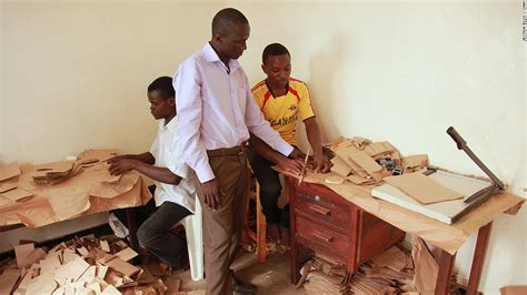 How To Make A Paper Bag At Home - andrew mupuya from entrepreneur to paper bag king