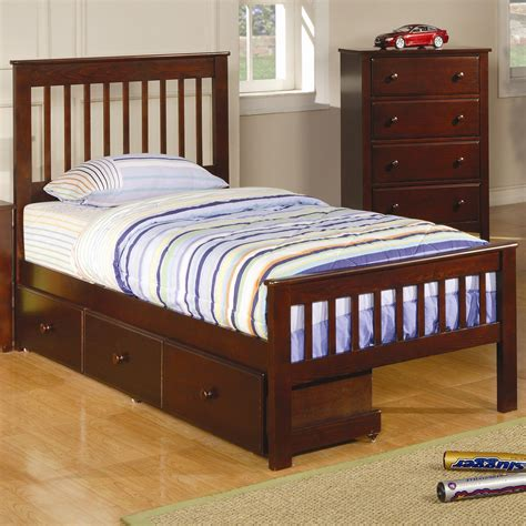 bed with bed under furniture twin captain bed with storage under 4 drawers